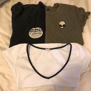 3 shirt brandy BUNLDE 💙🍭